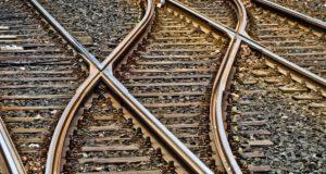 schienen-Bahn-Zug