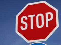 Stop-Schild-Stopschild