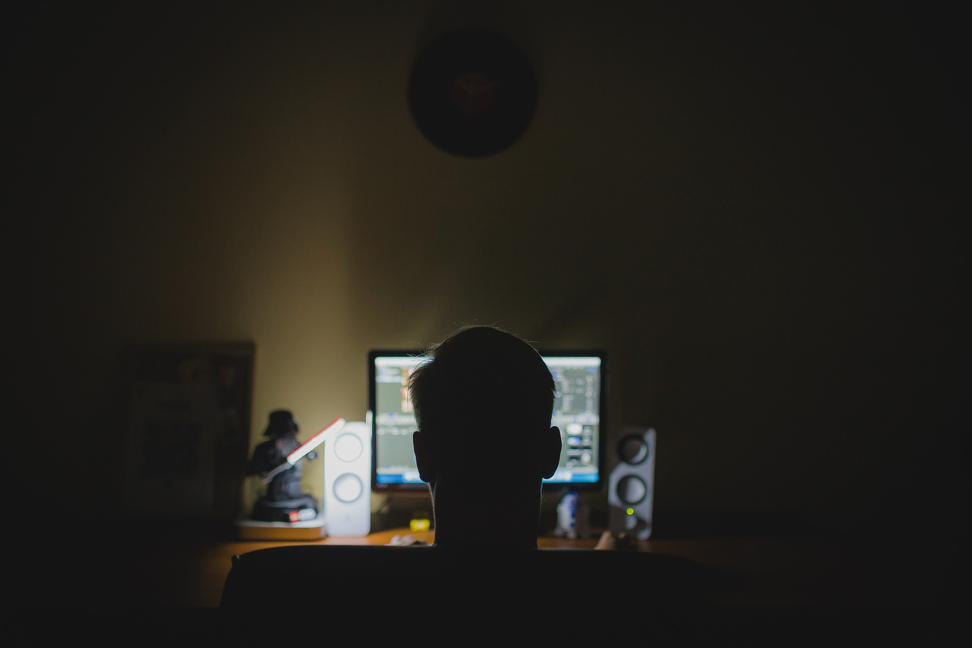 Hacker-Erpressung-Computer
