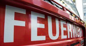 Feuerwehr-Brand